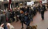 Фоторепортаж: 16 марта в Риге глазами очевидца