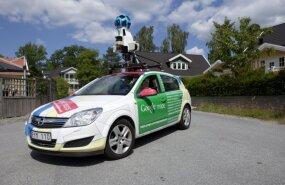 Google сфотографирует Латвию для Street View