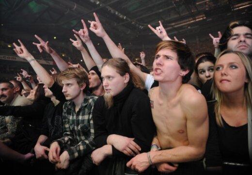 Rammstein собрал в Риге 12 000 зрителей